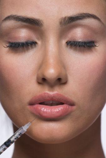 Эффект маски на лице от ботокса