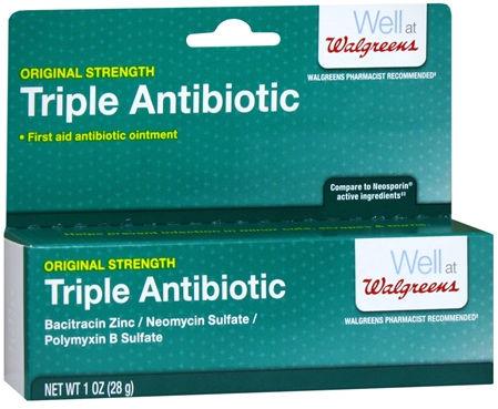 крем с тройными антибиотиками
