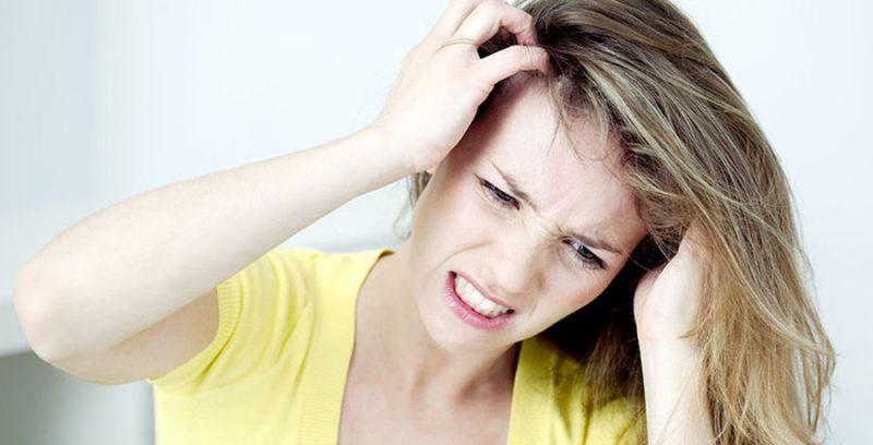 Сильный зуд кожи головы