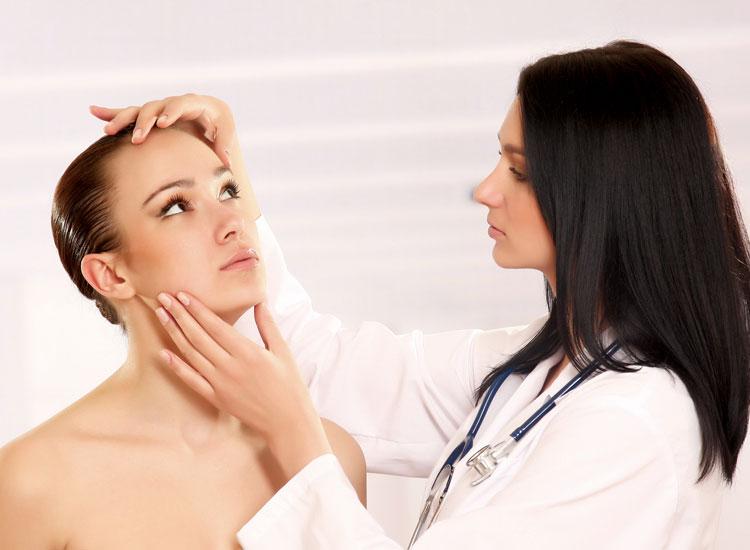 На приеме у дерматолога