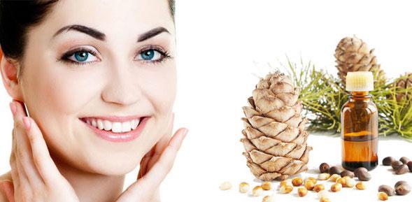 Польза кедрового масла для лица