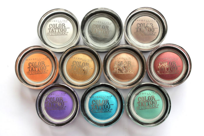 Тени для век Color Tattoo от Мaybelline