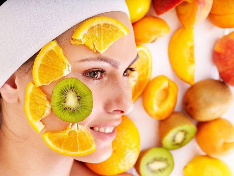 Фруктовая маска для лица