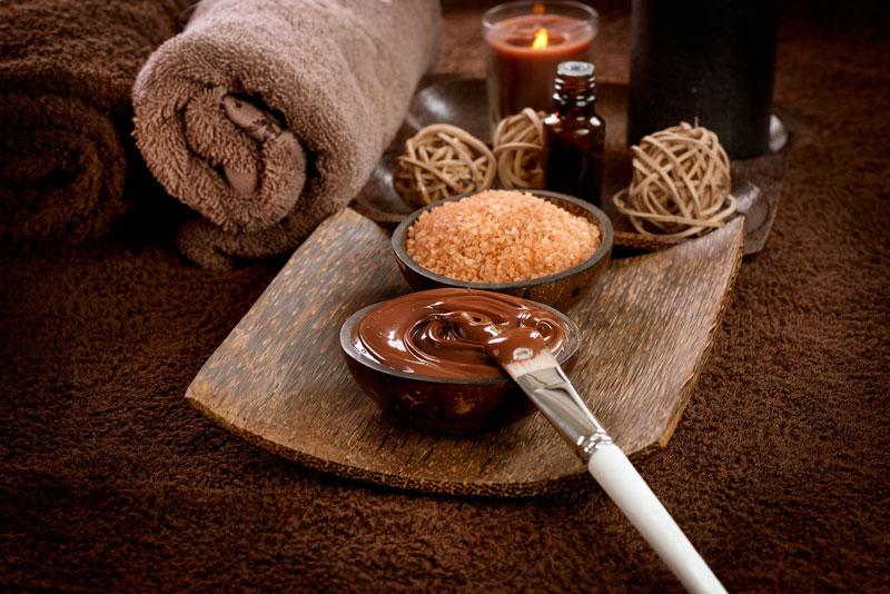 Ингредиенты для шоколадного обертывания