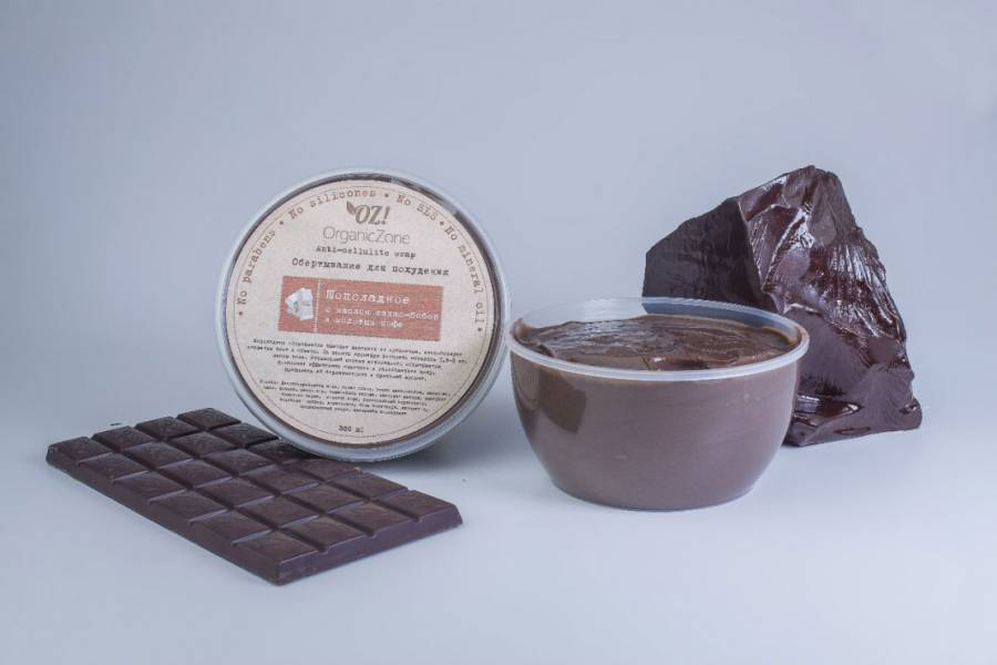 "Шоколадное обертывание для похудения ""Шоколадное"" от Organic Zone"