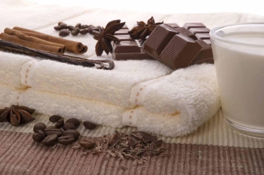 Шоколад, корица, анис, зерна кофе