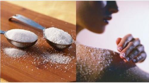 Сахарно-солевой скраб