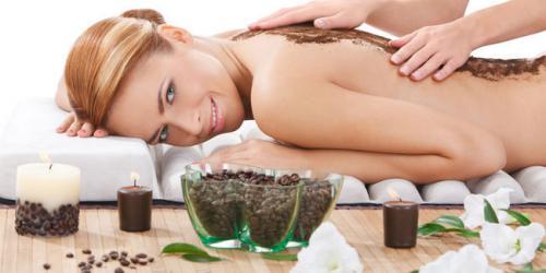 Использование скраба из кофе для тела