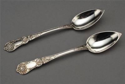 Серебряные ложечки