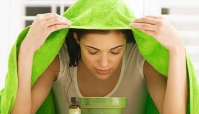 Распаривание кожи лица