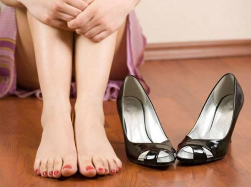 Вред каблуков для ног