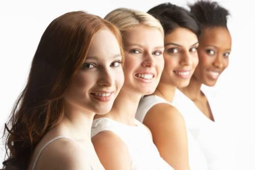 Женщины различных рас