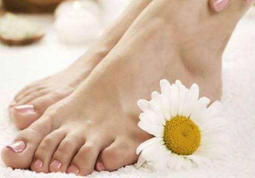 Ромашка для кожи ног