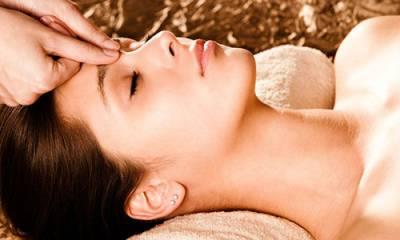 Точечный массаж для лица