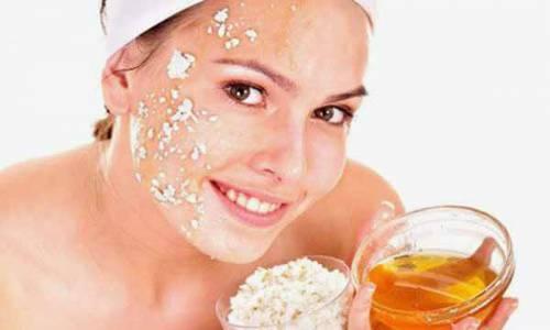 Овсянка и мед для кожи лица