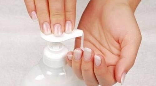 Использование жидкого мыла