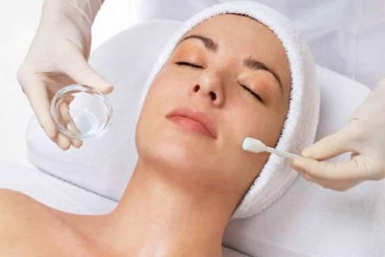 Подготовка лица к косметологической процедуре