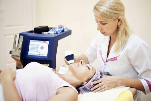 Лазерная процедура для лица