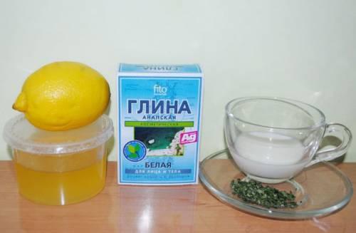 Мед, глина и лимон
