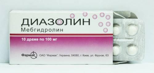 Антигистаминные средства при зуде