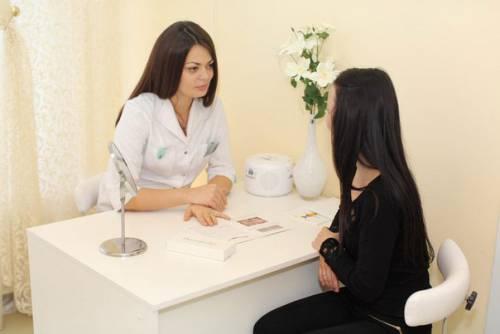 Беседа с косметологом
