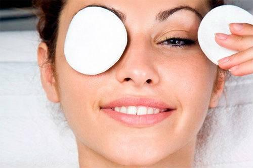 Компресс для кожи вокруг глаз