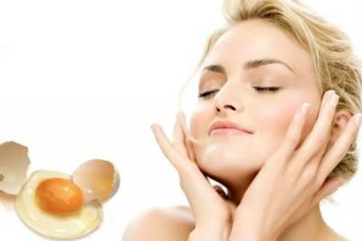 Яичный белок для омоложения кожи лица