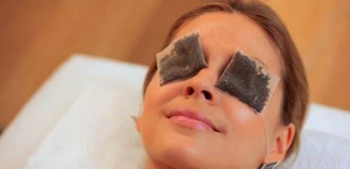 Чайный компресс на глаза