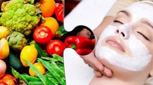 Овощи и уход за кожей