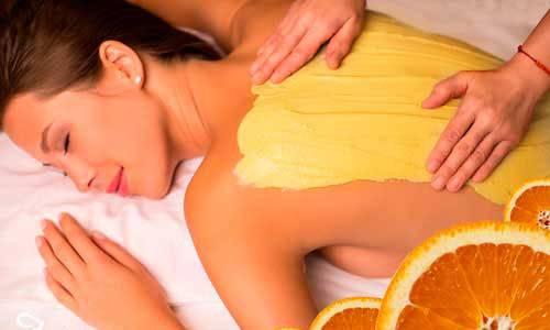 Апельсиновое обертывание