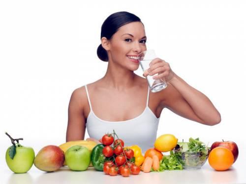 Фрукты и овощи в рационе питания