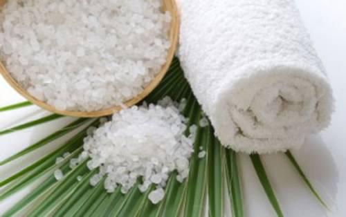 Соль и полотенце