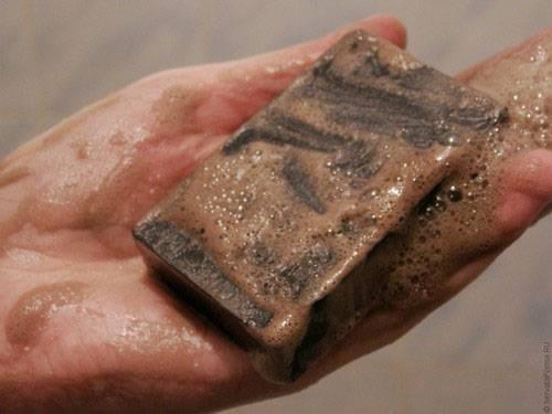Дегтярное мыло