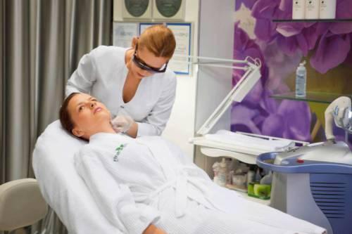 Процедура по омоложению кожи