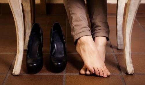 Ноги отдыхают от обуви