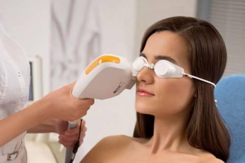 Фототерапия для лица
