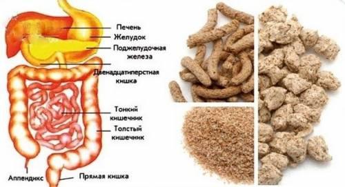 Отруби очищают кишечник