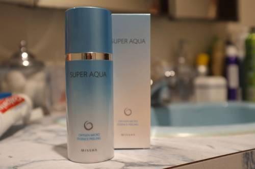 Скатка Missha Super Aqua Oxygen Micro Essence