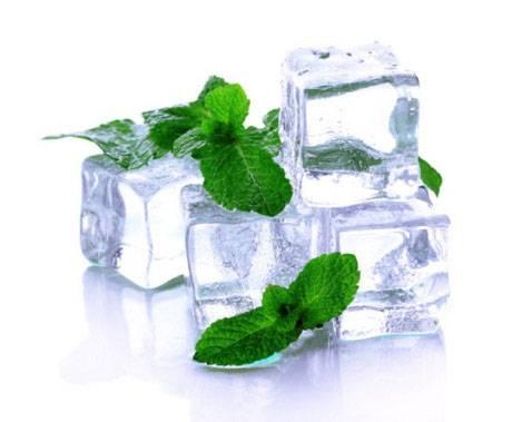 Лед с мятой