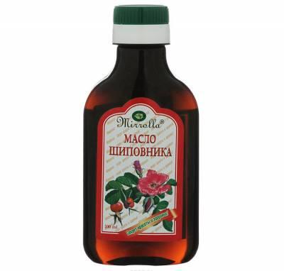 Бутылочка масла шиповника