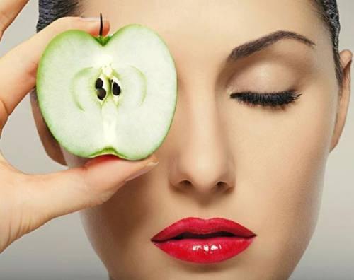 Яблоки для омоложения лица
