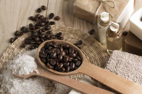 Кофе и соль для пилинга
