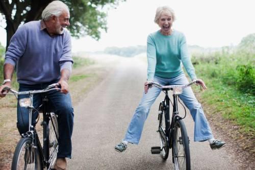 На велопрогулке