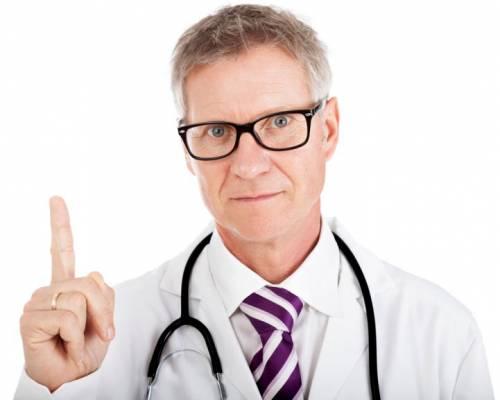 Предостережения врача