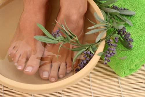 Травяные ванночки для ног