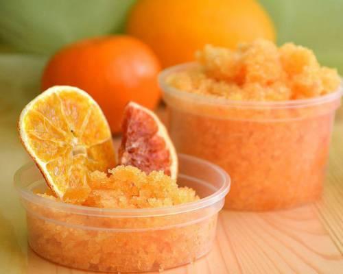 Скраб апельсиновый