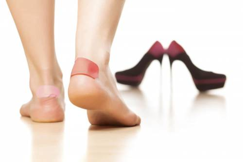 Мозоли от ношения неудобной обуви