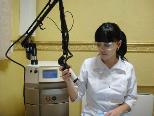 Аппарат для лазерной шлифовки