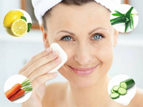 Народные средства отбеливания кожи