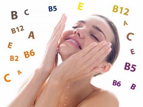 Польза витаминов для кожи